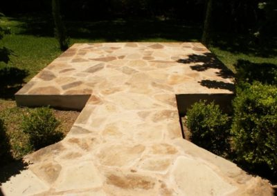 Patio and masonry