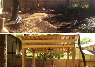 Pergola and Hardscape