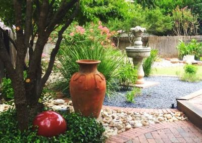 Xeriscape and Pavers